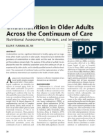 undernutrition in older adults