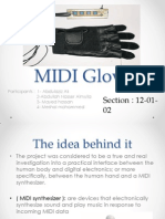 MIDI Glove Background