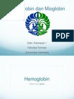 Hemoglobin Dan Mioglobin