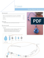 Jewelry Tutorial - Tear Drop Necklace