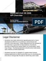 Civil3d 2008 API