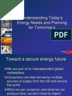 API Understanding Todays Energy Needs