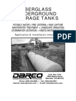 Fiberglass Tank Installation Manual