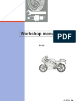 APRILIA Workshop Manual - RS50