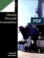 Derecho Mercantil Guatemalteco