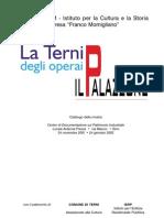 ICSIM - La Terni Degli Operai - Il Palazzone - Cat Mostra 2002