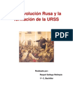 Raquel Gallego La Revolucion Rusa