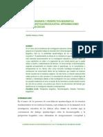 Fenomenografía y perspectiva biográfica en la investigación educativa
