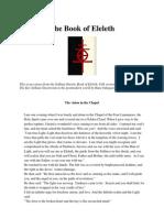 The Sethian Gnostic Book of Eleleth