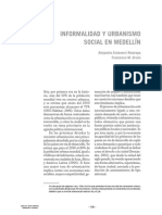 Informalidad y Urbanismo Social, A Echeverri F Orsini
