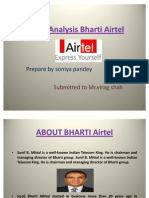 50192017 SWOT Analysis Bharti Airtel PPT