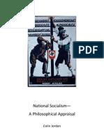 Jordan NationalSocialism APhilosophicalAppraisal