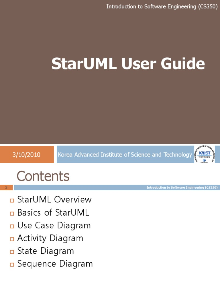 Lecture StarUML   Unified Modeling Language   Use Case