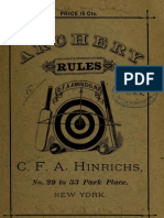 Archery Rules 00 Hi Nr
