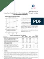 PAYS DE LA LOIRE chiffres chômage