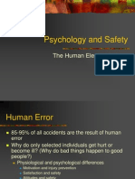 Psychology and Safety