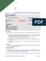 PCORP-0007; Rev_ 4 - Control de Documentos y Registros