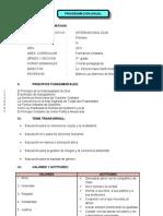 P.A. Formacion Cristiana 5°PRIM
