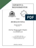 Apostila Recreação Total Esportiva Empreendimentos Juazeiro do Norte