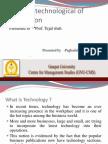 Impact of Technology on Organisation