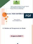 Aula 2 e 3 - Modelo de Planejamento em Saúde