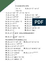 Lista Derivadas Parciais Regra Da Cadeia Diferenciais Gradiente