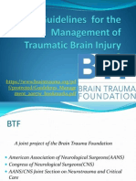 BTF Guidelines for TBI Maj Ajay