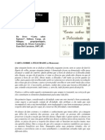 Etica Item 2 Epicuro Carta Sobre a Felicidade