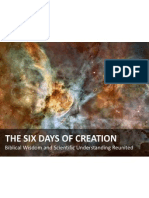 The Six Days of Genesis