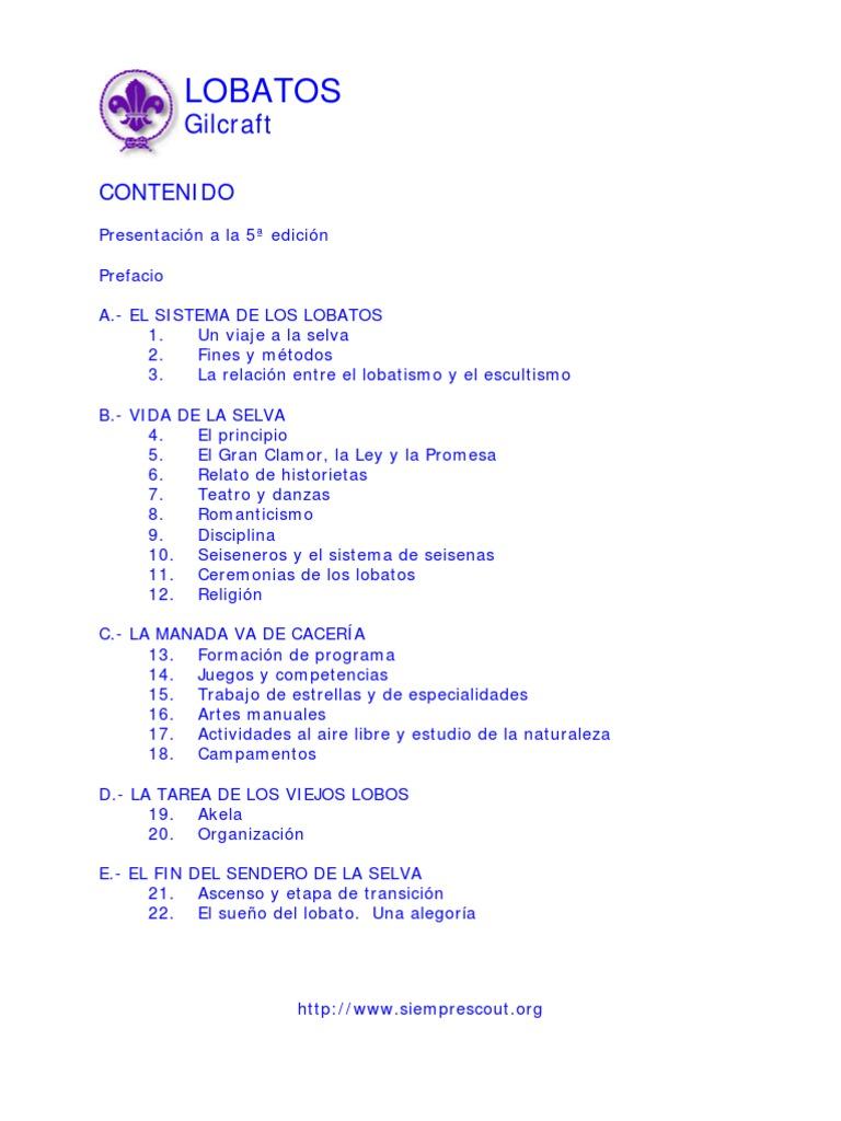 Lobatos (Gilcraft)Libre)
