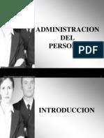 Administracion Del Personal