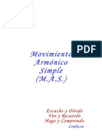 Movimiento Armonico Simple - Analisis
