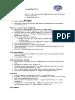NGFFL Minutes November 2012