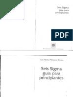 Seis Sigma Para Principiantes