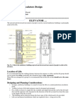 Elevators and Escalators Design