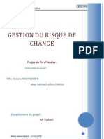 Gestion Du Risque de Change Machkour Hanane Chaoui Fatimaezzahra