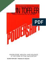 Alvin Toffler - Puterea in Miscare