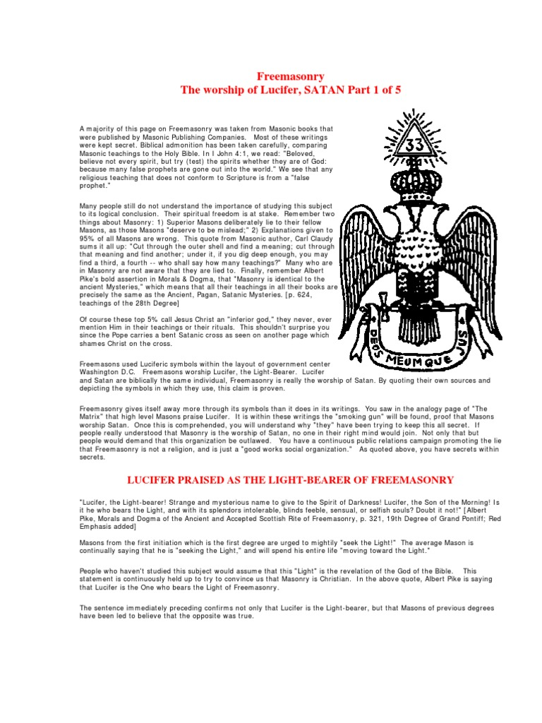 David Icke Freemasons Satanism And Symbolism Satanism Freemasonry