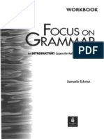 Focus On Grammar Book