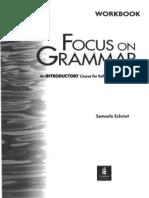 Focus On Grammar Book