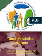 Tamiz Metabólico Ampliado1