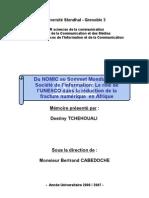 Le rôle de l'Unesco dans la réduction de la fracture numérique (Mai 2007)