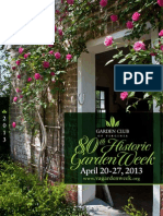 80th Historic Garden Week In Virginia Guidebook