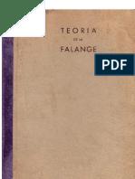 Teoria de la Falange (Julián Pemartín. 1941)