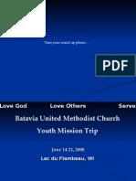 Mission Trip 2008