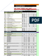 Metrado en PDF