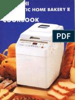Hitachi HB-B102 Recipe Booklet