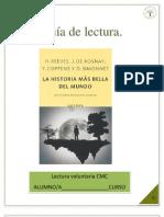 GUIA DE LA HISTORIA MÁS BELLA DEL MUNDO.