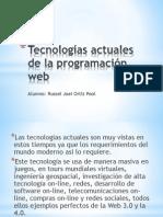 Tecnologías actuales de la programación web.pptx