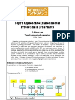 Toyo Approach Environmental Protection Urea Plants